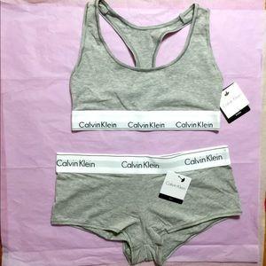 Calvin Klein Bra and Panty Matching Underwear Set
